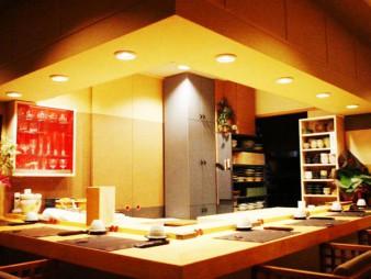 プラザ6・4ビル内 姫沙羅 設計施工   (ミシュラン二つ星)